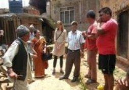 A monitoring visit to Earthquake affected areas
