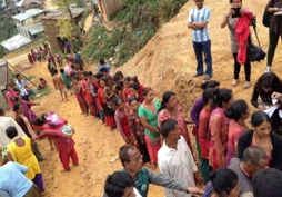 Raksha Nepal Report from Dhading